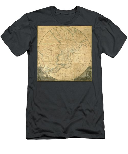 A Plan Of The City Of Philadelphia And Environs, 1808-1811 Men's T-Shirt (Athletic Fit)