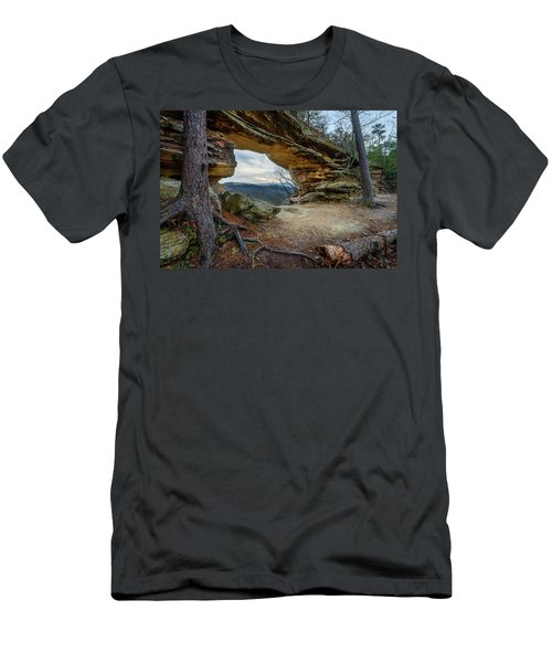 A Portal Through Time Men's T-Shirt (Athletic Fit)