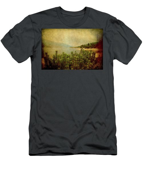Men's T-Shirt (Athletic Fit) featuring the photograph A Quiet Moment Before Storm... by Milena Ilieva