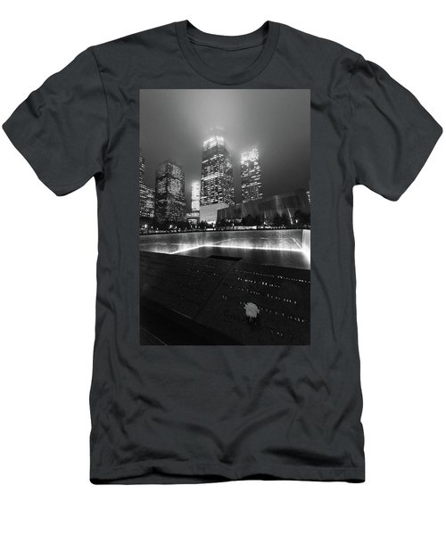 A Rose In The Darkness Men's T-Shirt (Athletic Fit)