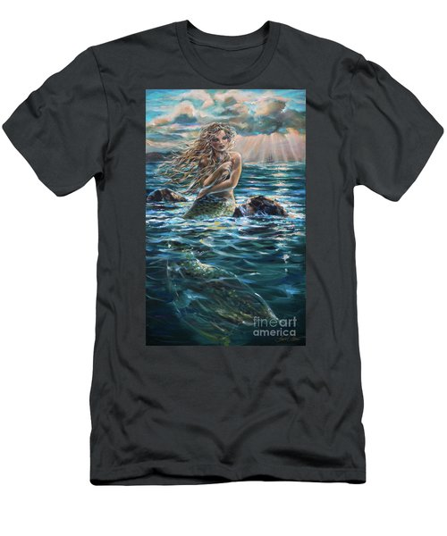 A Ship In The Distance Men's T-Shirt (Athletic Fit)