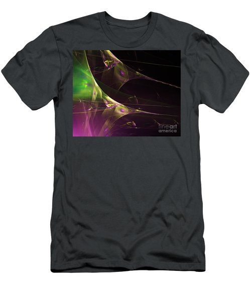 A Space Aurora Men's T-Shirt (Athletic Fit)