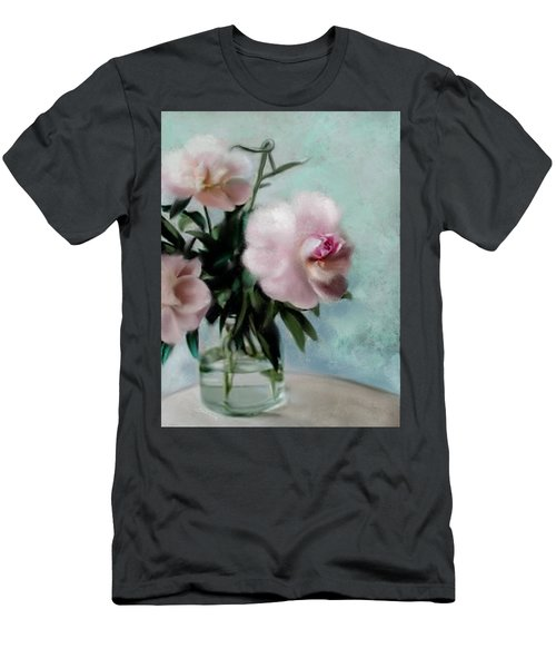 A Vase Of Peonies Men's T-Shirt (Athletic Fit)