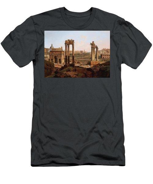 A View Of The Forum Romanum Men's T-Shirt (Athletic Fit)