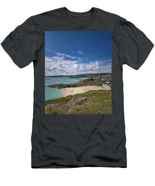 A Walk To Porthgwidden Beach - St Ives Cornwall Men's T-Shirt (Athletic Fit)