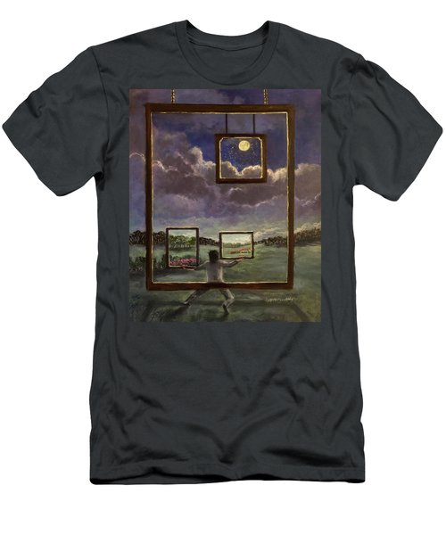 A World Of Visions Men's T-Shirt (Athletic Fit)