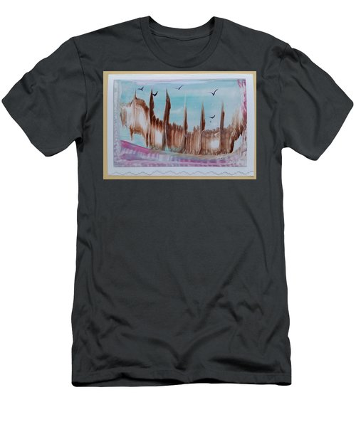 Abstract Castles Men's T-Shirt (Athletic Fit)