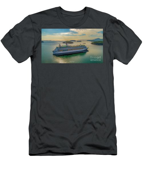 Adventure Of The Seas, Bar Harbor  Men's T-Shirt (Athletic Fit)