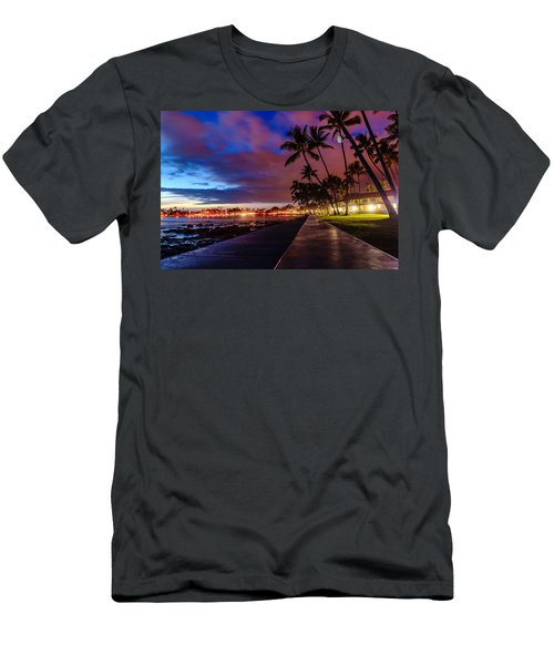 After Sunset At Kona Inn Men's T-Shirt (Athletic Fit)
