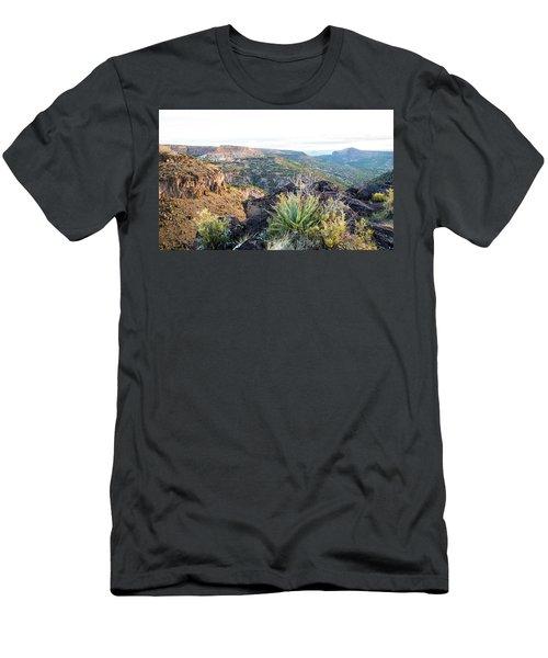 Agave Sunrise Men's T-Shirt (Athletic Fit)