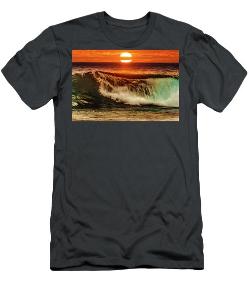 Ahh.. The Sunset Wave Men's T-Shirt (Athletic Fit)