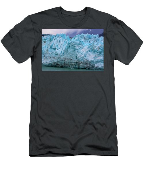Alaskan Blue Glacier Ice Men's T-Shirt (Athletic Fit)