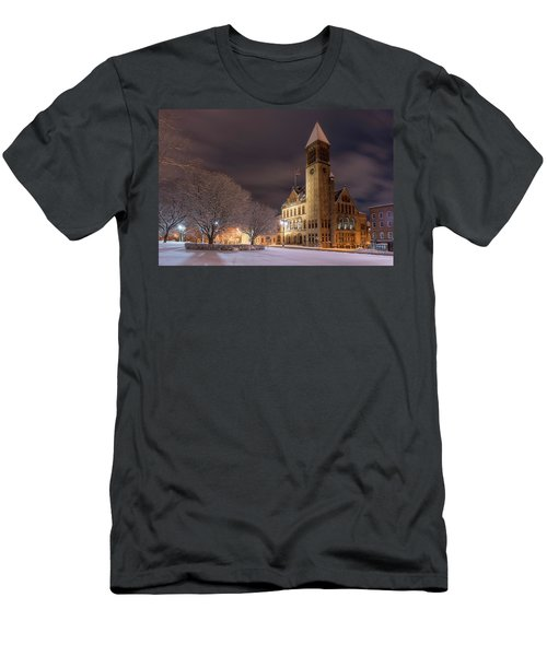 Albany City Hall Men's T-Shirt (Athletic Fit)