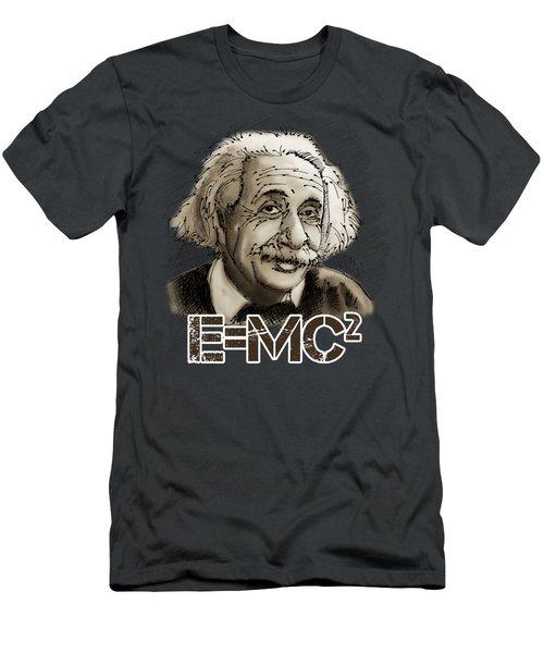 Albert Einstein Men's T-Shirt (Athletic Fit)