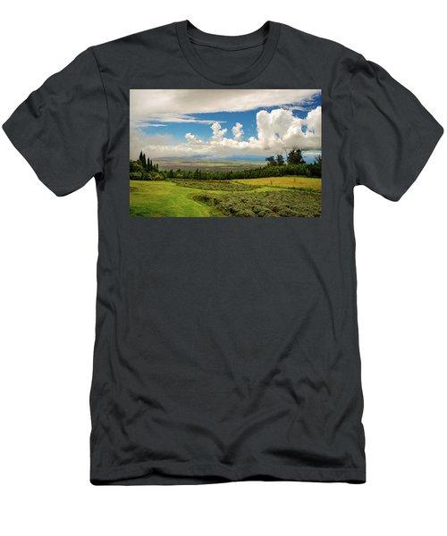 Alii Kula Lavender Farm Men's T-Shirt (Athletic Fit)