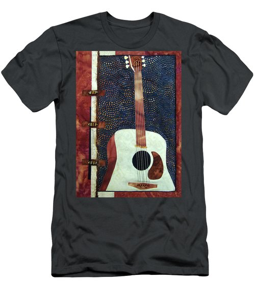 All That Jazz Guitar Men's T-Shirt (Athletic Fit)