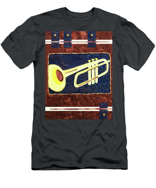 All That Jazz Trumpet Men's T-Shirt (Athletic Fit)