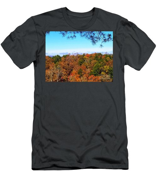 Men's T-Shirt (Athletic Fit) featuring the photograph All The Colors Of Fall by Rachel Hannah