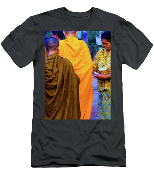 Alms For The Monks Men's T-Shirt (Athletic Fit)