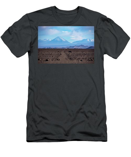 Along The Inca Trail In The Atacama Desert Men's T-Shirt (Athletic Fit)