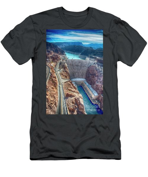Amazing Hoover Dam Men's T-Shirt (Athletic Fit)