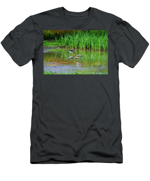 American Avocets Men's T-Shirt (Athletic Fit)