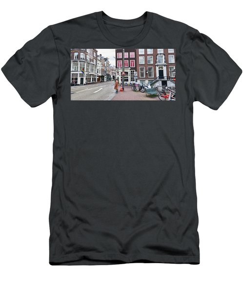 Amsterdam Pride Men's T-Shirt (Athletic Fit)
