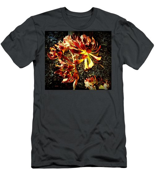 An Old - Fashioned Girl Floral Men's T-Shirt (Athletic Fit)