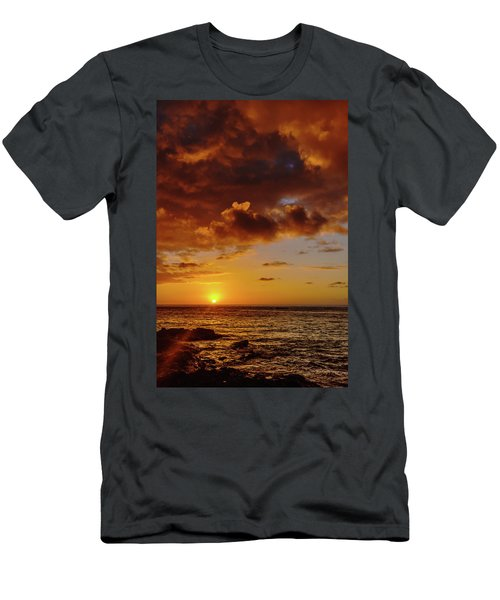 And Then The Sun Set Men's T-Shirt (Athletic Fit)