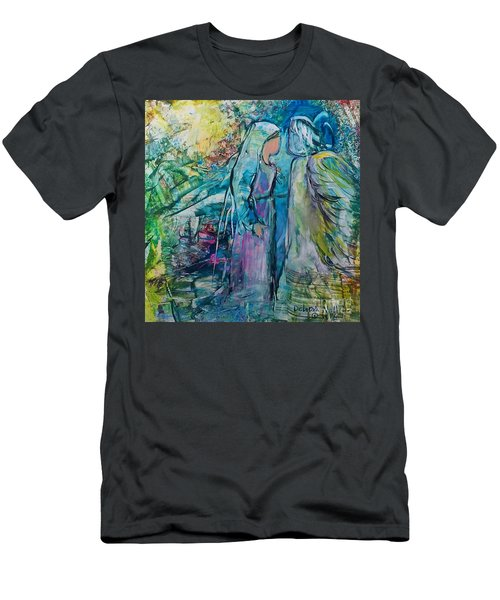 Angel Encounter Men's T-Shirt (Athletic Fit)