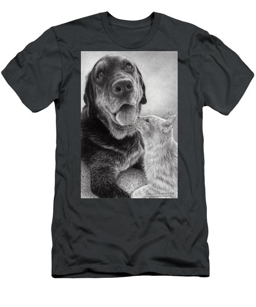 Angus And Linus Men's T-Shirt (Athletic Fit)