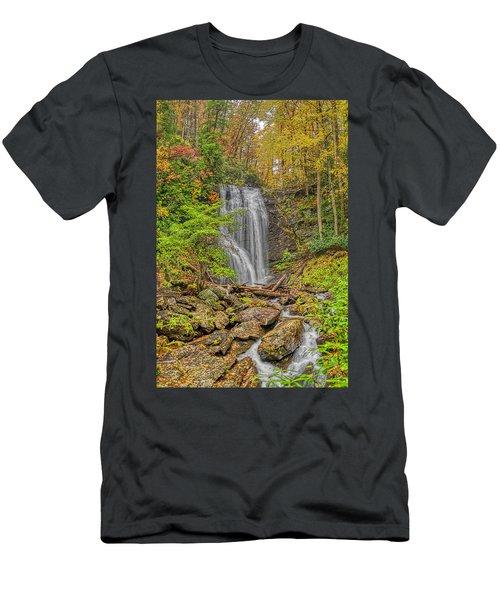Anna Ruby Falls Left Men's T-Shirt (Athletic Fit)