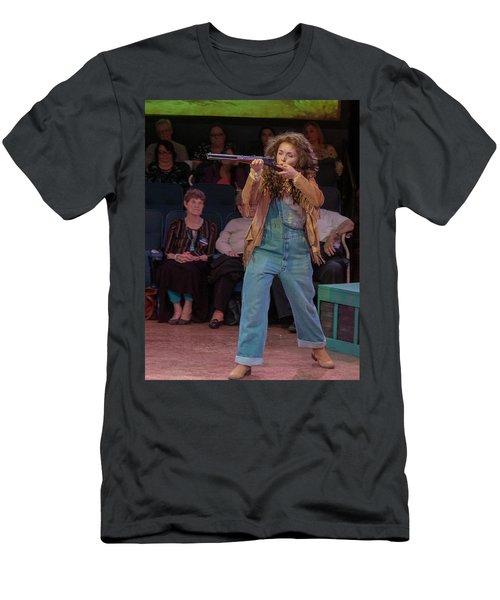 Annie Got Her Gun Men's T-Shirt (Athletic Fit)