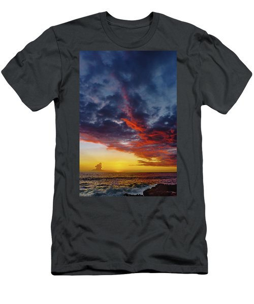 Another Colorful Sky Men's T-Shirt (Athletic Fit)