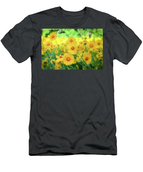 Another Glimpse, Pollinator Field Men's T-Shirt (Athletic Fit)
