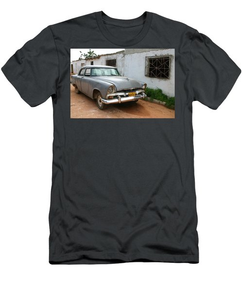 Antique Car Grey Cuba 11300501 Men's T-Shirt (Athletic Fit)