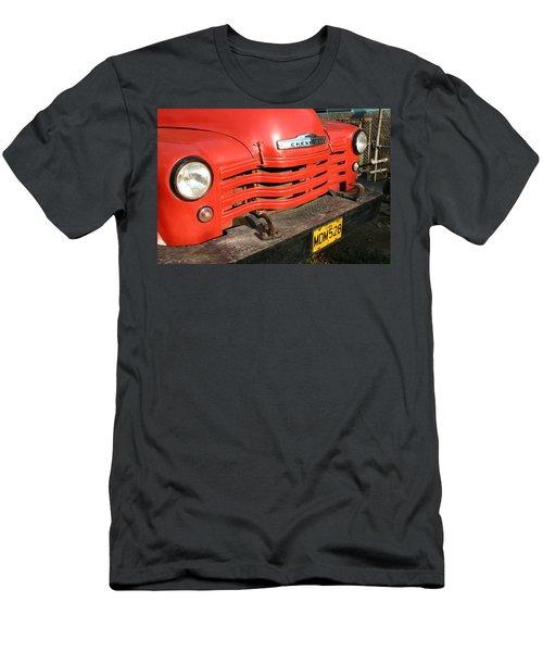 Antique Truck Red Cuba 11300502 Men's T-Shirt (Athletic Fit)