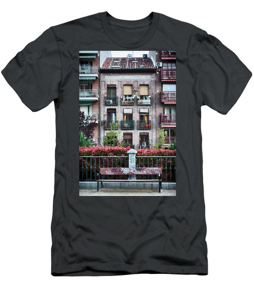 Apartments In Madrid Men's T-Shirt (Athletic Fit)