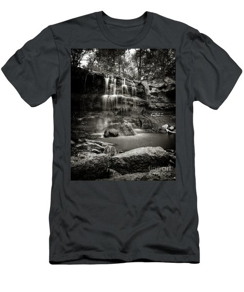 Rock Glen Falls Men's T-Shirt (Athletic Fit)
