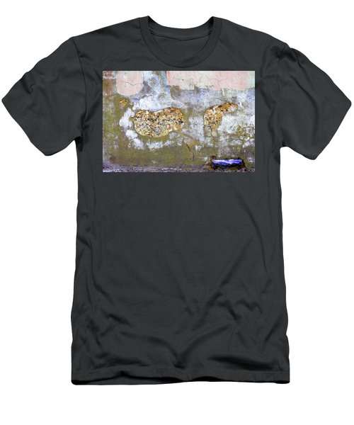 Men's T-Shirt (Athletic Fit) featuring the photograph Art Print Abstract 26 by Harry Gruenert