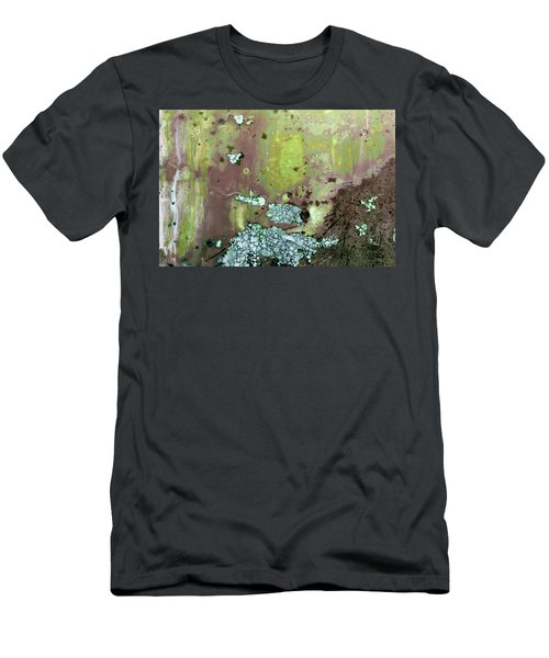 Men's T-Shirt (Athletic Fit) featuring the photograph Art Print Abstract 33 by Harry Gruenert