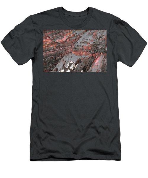 Men's T-Shirt (Athletic Fit) featuring the photograph Art Print Patina 52 by Harry Gruenert