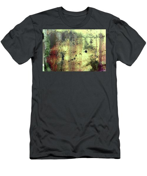 Men's T-Shirt (Athletic Fit) featuring the photograph Art Print Patina 54 by Harry Gruenert