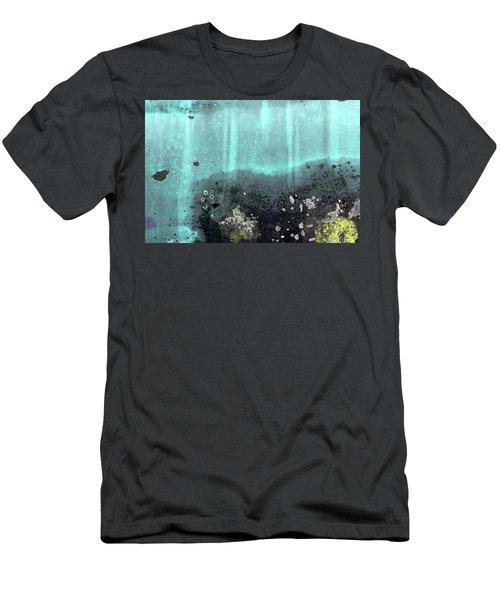 Men's T-Shirt (Athletic Fit) featuring the photograph Art Print Patina 55 by Harry Gruenert