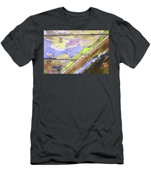 Men's T-Shirt (Athletic Fit) featuring the photograph Art Print Patina 56 by Harry Gruenert