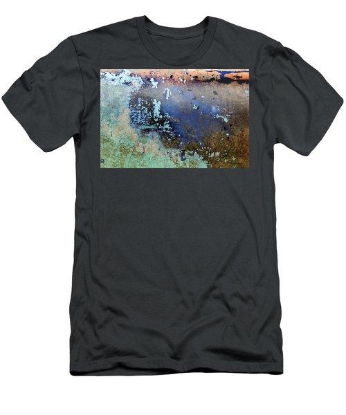 Men's T-Shirt (Athletic Fit) featuring the photograph Art Print Patina 57 by Harry Gruenert