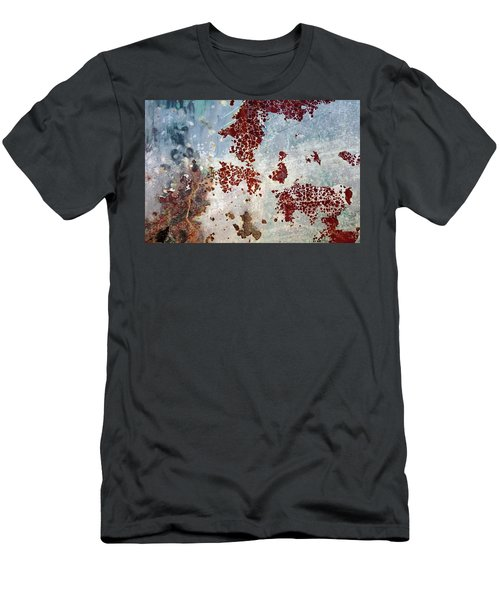 Men's T-Shirt (Athletic Fit) featuring the photograph Art Print Patina 58 by Harry Gruenert