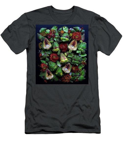 Artichoke Art Men's T-Shirt (Athletic Fit)