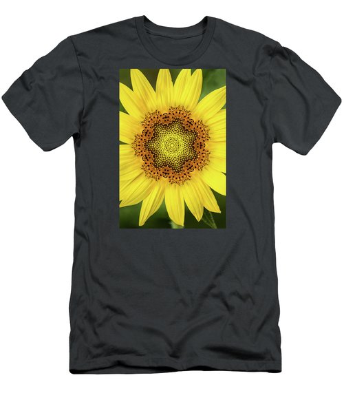 Artistic 2 Perfect Sunflower Men's T-Shirt (Athletic Fit)
