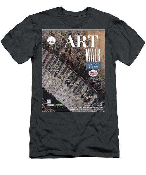 Artwalk Art Show Scottsdale  Men's T-Shirt (Athletic Fit)